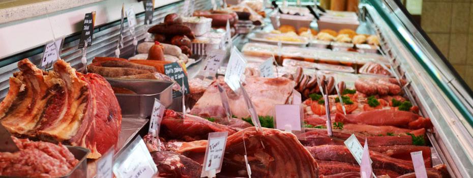 <blockquote><h3>La boucherie-traiteur</h3>Des Viandes sélectionnées pour votre plaisir quotidien<br> Des Charcuteries traditionnelles et artisanales fabriquées sur place<br> Des plats cuisinés pour régaler vos papilles et vous faciliter vos menus </blockquote>